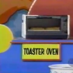 He thinks the toaster oven is $50 but is incorrect.