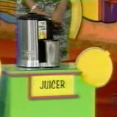 She thinks the juicer is $120.