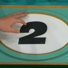 Her second pick is #2.