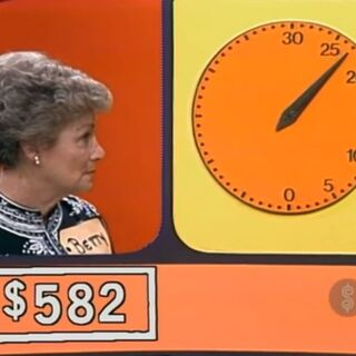 950, 800, 600, 500, 400, 300, 200 (stop the clock). Bob had said to go higher than 500.