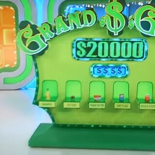 If you've seen Grand Game being played for $20,000 on primetime TV, it got played for the first time on daytime TV during big money week.