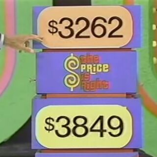 $3262 is the right price but the contestant chose wrong.