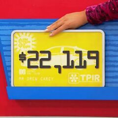 She picks $22,119...