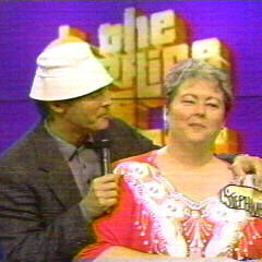 Doug wearing the Gilligan hat in a <i>Gilligan's Island</i>-themed showcase