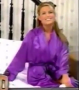 Rachel in Satin Sleepwear-1