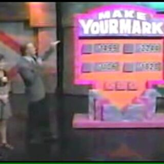 Make Your Mark played on <i>The New Price is Right</i>, with host <a href=