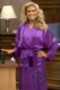 Rachel in Satin Sleepwear-41