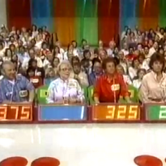 The Contestant's Row frame border colors turned red for a brief period in the 1980s. The seat covers have changed to green and stayed that way until 2007 when Drew Carey took over. The second and fourth podiums switch colors and have continued to use the same colors today.
