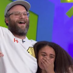 Seth Rogen has a charity total of $11,286.
