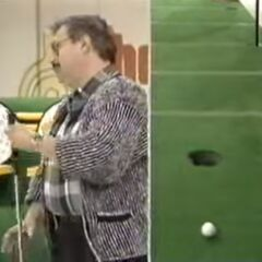 Phil Wayne has missed his inspiration putt.