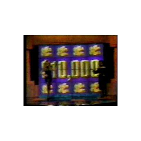 It's not a giant $10,000 bill...