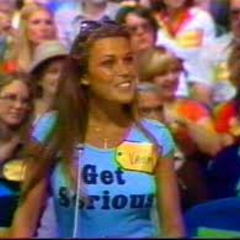 Here's Vanna on the June 20, 1980 (#3735D) episode but she didn't make it out of Contestant's Row. Two years later she would begin her career turning letters on <i>Wheel of Fortune</i>