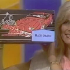 If she wins the car, she will also get a Maxi Guard car security system.
