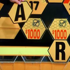 It's an A. $2,000 is now up for grabs, but the contestant decides to go for the car.