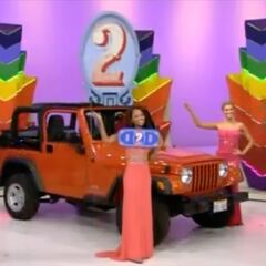 The Jeep Wrangler was what the contestant picked.