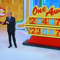 This contestant had three numbers right.