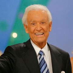 Bob at the very end of his final <i>Price is Right</i> show, June 15, 2007