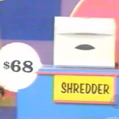 She thinks the shredder is $68. She is correct.