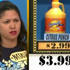 The citrus punch is $2.99, not $3.99.