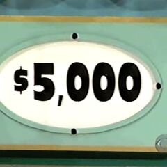 He gets $5,000 and decides to continue.
