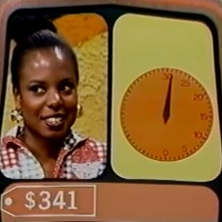 4 (stop the clock). Bob can't tell if the contestant meant $4 or $400.