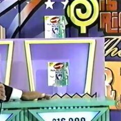 She wins $16,000!!!