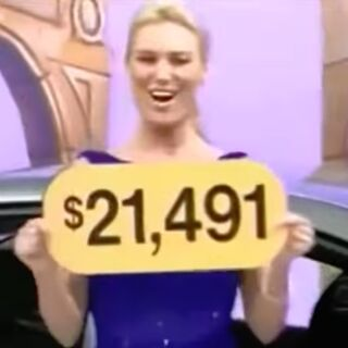 The price of the Pontiac G6 was $21,491. Sadly the contestant has lost.