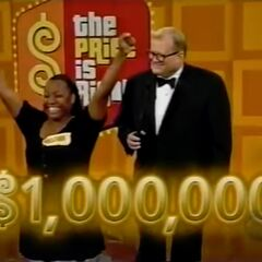 If she gets $50,000 on the first punch, she will win $1,000,000.