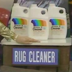 Next up is a Rug Cleaner.