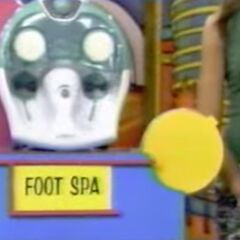 She thinks the foot spa is $49.