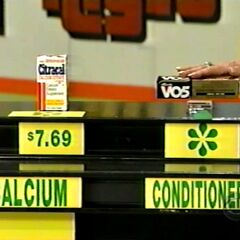 Shelly says the Alberto V05 conditioner is less expensive than the Citracal calcium supplement.
