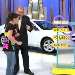 She picks the $21,850 price.