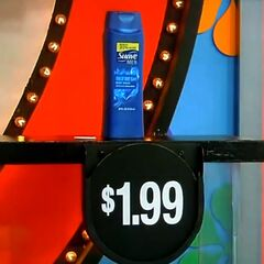 Second, she picks 2 Suave Mens body wash which come to...