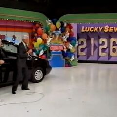 He says 5 and is exactly right. He wins the 1998 Ford Windstar!