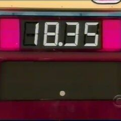 $18.35 is the contestant's total.