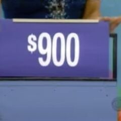 The price of the chair is $900.