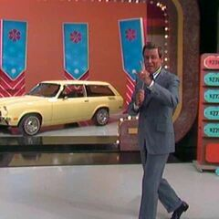 Bob tells you that we will return in a moment. This contestant won the car on the first pick.