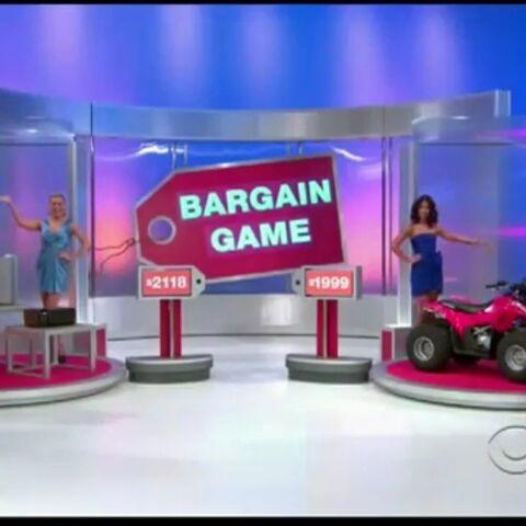 She picks the ATV.