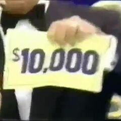 This is what any player playing Punch-A-Bunch in the daytime from the 1970s to 2000s and in prime time 1986 wants to find. This is from a 1986 prime time special, as you can also see a close-up of Bob's tux.