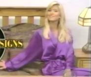 Teri Harrison in Satin Sleepwear-6