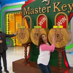 And, the second key she picked was for the SUV!