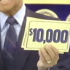 With the $100, she adds $10,000 for a total of $10,100!!!