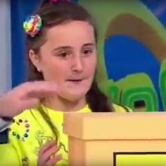 You've seen adults open boxes, but here's an up-close look at this 12-year-old girl getting ready to open the box. Did she get lucky? Is she going to impress her parents?
