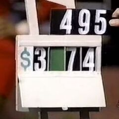 He says it's $3,574.