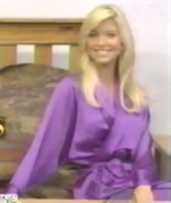 Teri Harrison in Satin Sleepwear-3