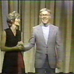 Tom appearing on the 11-7-1980 episode of <i>Wheel of Fortune</i> as he's being escorted out by then-current hostess Susan Stafford
