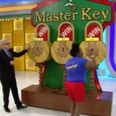 The second key she picked was the master key!