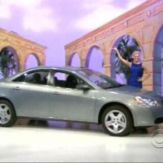 The Pontiac G6 was what the contestant picked.