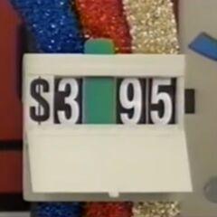 He says it's $3,495.