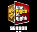 The Price is Right/Season 46 Statistics